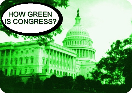 How green is Congress?