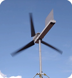 Homemade Windmill / Do-It-Yourself Wind Turbine
