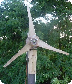How to make a windmill that generates electricity at home